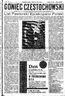 Goniec Częstochowski, 1934, R. 29, No 51