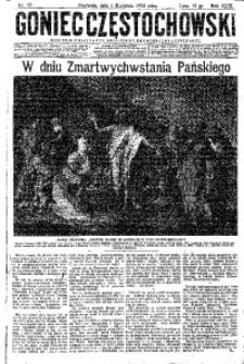 Goniec Częstochowski, 1934, R. 29, No 75