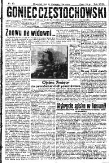 Goniec Częstochowski, 1934, R. 29, No 83