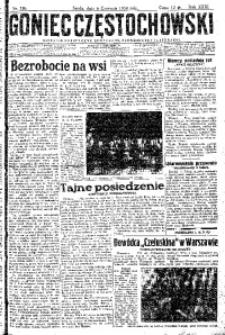 Goniec Częstochowski, 1934, R. 29, No 126
