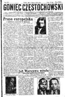 Goniec Częstochowski, 1934, R. 29, No 149