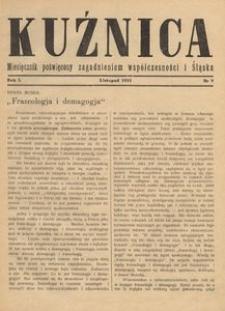 Kuźnica, 1935, R. 1, nr 9
