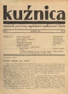 Kuźnica, 1935, R. 1, nr 10