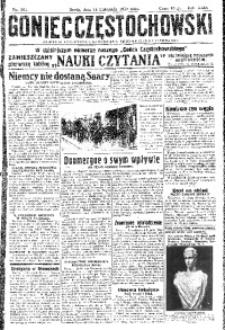 Goniec Częstochowski, 1934, R. 29, No 261
