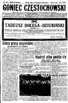 Goniec Częstochowski, 1936, R. 31, No 266