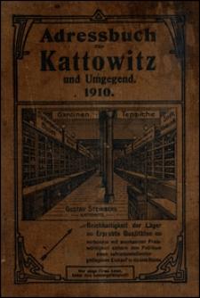 Adressbuch für Kattowitz und Umgegend