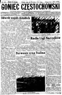 Goniec Częstochowski, 1937, R. 31, no 215