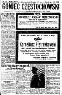 Goniec Częstochowski, 1937, R. 31, no 225
