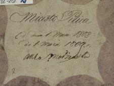 Księga małżeństw Pilica - miasto 1808-1809
