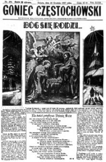 Goniec Częstochowski, 1937, R. 31, no 296