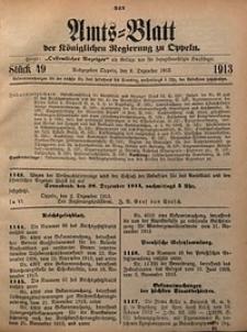 Amts-Blatt der Königlichen Regierung zu Oppeln, 1913, Bd. 98, St. 49
