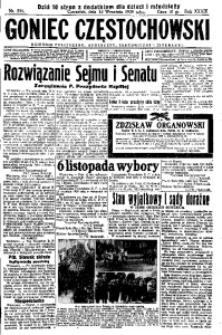 Goniec Częstochowski, 1938, R. 33, No 211