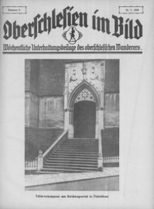 Oberschlesien im Bild, 1930, nr 5