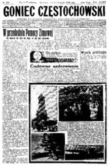 Goniec Częstochowski, 1938, R. 33, No 255