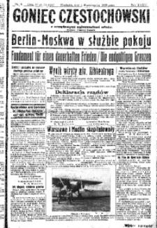 Goniec Częstochowski, 1939, R. 34, No 8