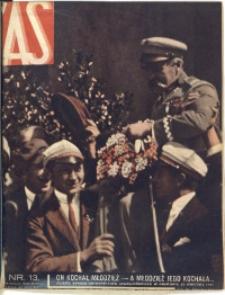 As. Ilustrowany magazyn tygodniowy, 1935, R. 1, nr 13