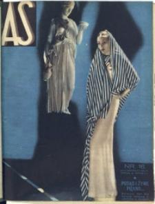 As. Ilustrowany magazyn tygodniowy, 1935, R. 1, nr 16