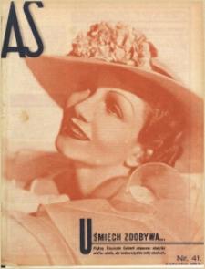 As. Ilustrowany magazyn tygodniowy, 1935, R. 1, nr 41