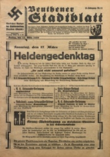 Beuthener Stadtblatt, 1935, Jg. 10, Nr. 11