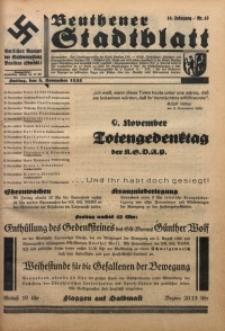 Beuthener Stadtblatt, 1935, Jg. 10, Nr. 45