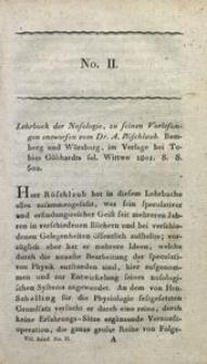 Bibliothek der practischen Heilkunde, 1802, Jg. 7, No. 2