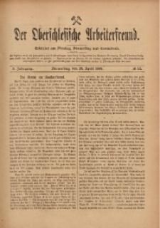 Der Oberschlesische Arbeiterfreund, 1909/1910, Jg. 10, No 12