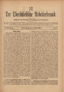 Der Oberschlesische Arbeiterfreund, 1909/1910, Jg. 10, No 15
