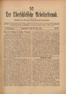 Der Oberschlesische Arbeiterfreund, 1909/1910, Jg. 10, No 22