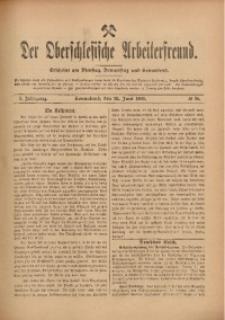 Der Oberschlesische Arbeiterfreund, 1909/1910, Jg. 10, No 36