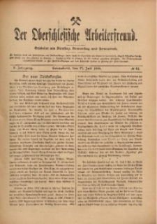 Der Oberschlesische Arbeiterfreund, 1909/1910, Jg. 10, No 45