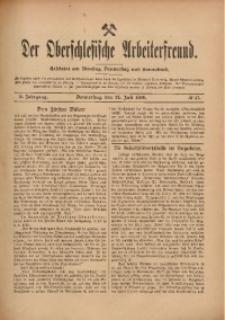 Der Oberschlesische Arbeiterfreund, 1909/1910, Jg. 10, No 47
