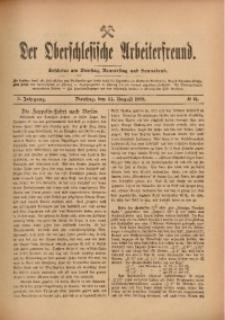 Der Oberschlesische Arbeiterfreund, 1909/1910, Jg. 10, No 64