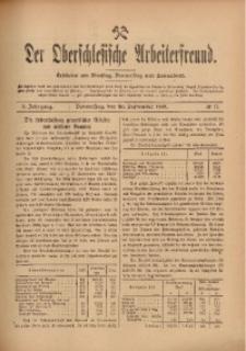 Der Oberschlesische Arbeiterfreund, 1909/1910, Jg. 10, No 77