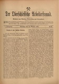 Der Oberschlesische Arbeiterfreund, 1909/1910, Jg. 10, No 88