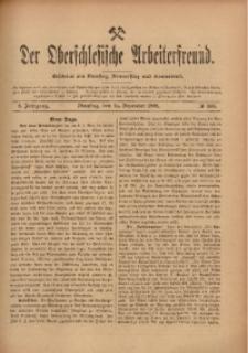 Der Oberschlesische Arbeiterfreund, 1909/1910, Jg. 10, No 109