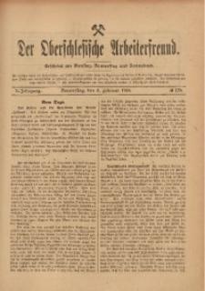 Der Oberschlesische Arbeiterfreund, 1909/1910, Jg. 10, No 129