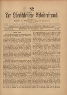 Der Oberschlesische Arbeiterfreund, 1909/1910, Jg. 10, No 132