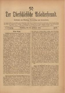 Der Oberschlesische Arbeiterfreund, 1909/1910, Jg. 10, No 137