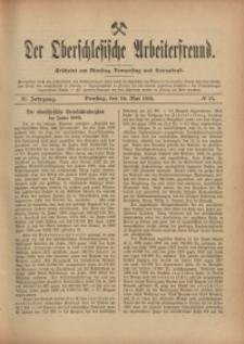 Der Oberschlesische Arbeiterfreund, 1910/1911, Jg. 11, No 17
