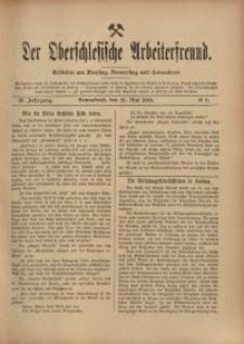 Der Oberschlesische Arbeiterfreund, 1910/1911, Jg. 11, No 21