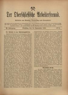 Der Oberschlesische Arbeiterfreund, 1910/1911, Jg. 11, No 73