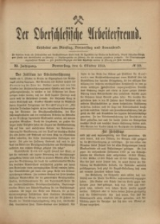 Der Oberschlesische Arbeiterfreund, 1910/1911, Jg. 11, No 80