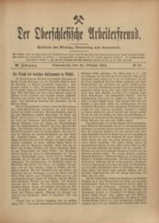 Der Oberschlesische Arbeiterfreund, 1910/1911, Jg. 11, No 90