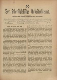 Der Oberschlesische Arbeiterfreund, 1910/1911, Jg. 11, No 98
