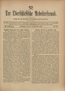 Der Oberschlesische Arbeiterfreund, 1910/1911, Jg. 11, No 100