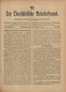 Der Oberschlesische Arbeiterfreund, 1910/1911, Jg. 11, No 127