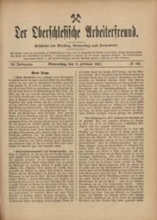 Der Oberschlesische Arbeiterfreund, 1910/1911, Jg. 11, No 133