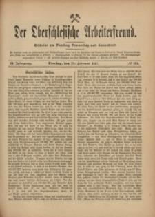 Der Oberschlesische Arbeiterfreund, 1910/1911, Jg. 11, No 135