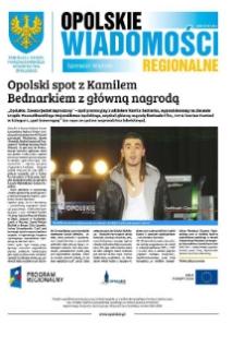 Opolskie Wiadomości Regionalne : publikacja Urzędu Marszałkowskiego Województwa Opolskiego 2014, nr 5 (117).