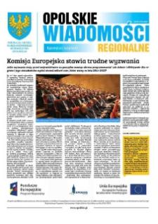 Opolskie Wiadomości Regionalne : publikacja Urzędu Marszałkowskiego Województwa Opolskiego 2015, nr 18 (130).